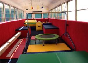mobile gymnastics class at la costa valley preschool and kindergarten