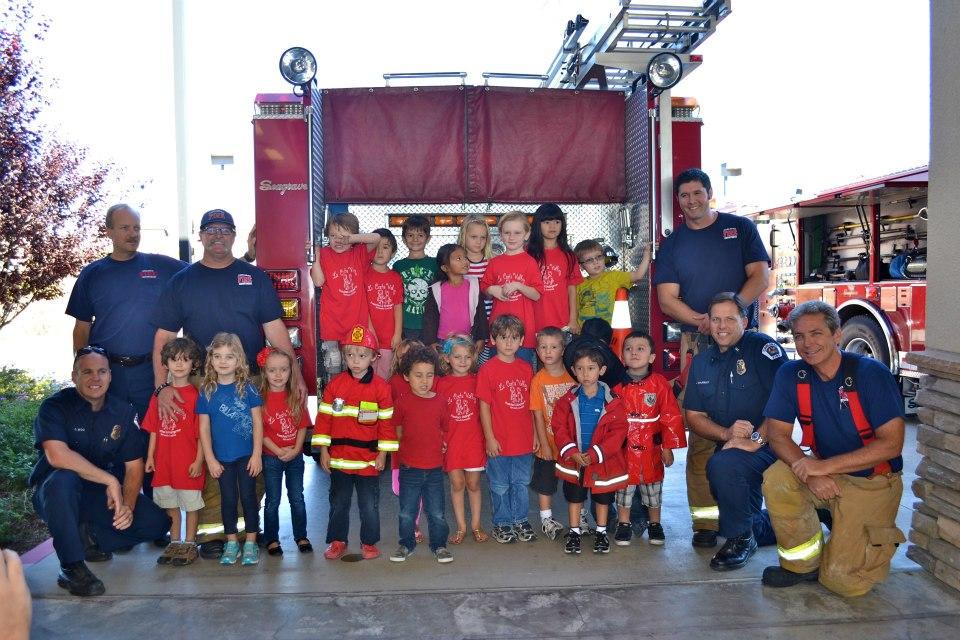 Visiting Carlsbad Fire Station No 5