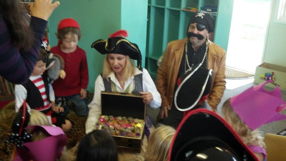 A bounty of learning aboard Black Moustache's ship