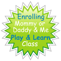 Now enrolling for January and Febuary Mommy and Me Play Classes