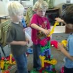 Exploring building and engineering at La Costa Valley Preschool and Kindergarten