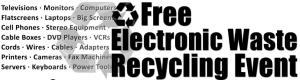 La Costa Valley Preschool and Kindergarten Electronic Waste Recycling Event