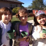 Carlsbad Flower Fields visits our school to teach our students about botany