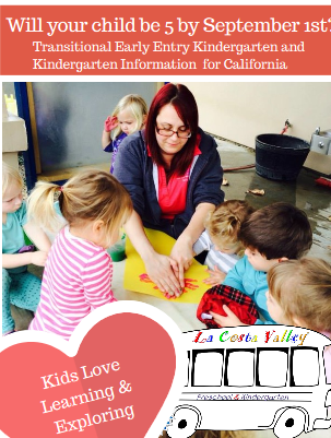 Kindergarten and Transitional Kindergarten What Does It All Mean