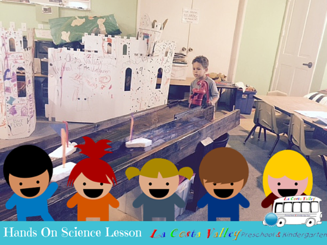Science Technology Lesson – Learning about pumps, waterways and how boats float