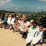 Learning field trip, kindergarten and preschool