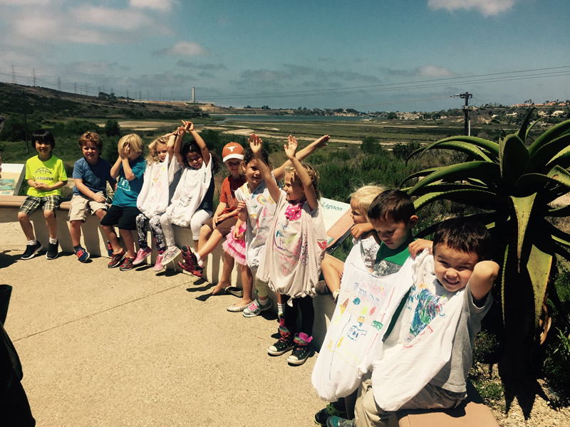 Learning out in the field- Agua Hedionda Lagoon Discovery Center