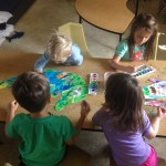 Guest speaker from La Costa Valley Preschool and Kindergarten social-emotional learning readiness program Circle of Friends